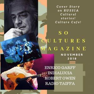 Enrico Garff Interviewed By SoCultures Magazine From Page 73